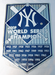 New York Yankees 27 World Series Championships Metal Plaque